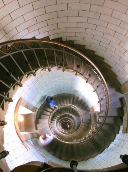 Escalier phare d'Eckmühl