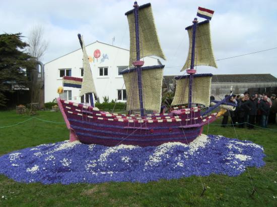 Fête des Jacinthes à La Torche en avril